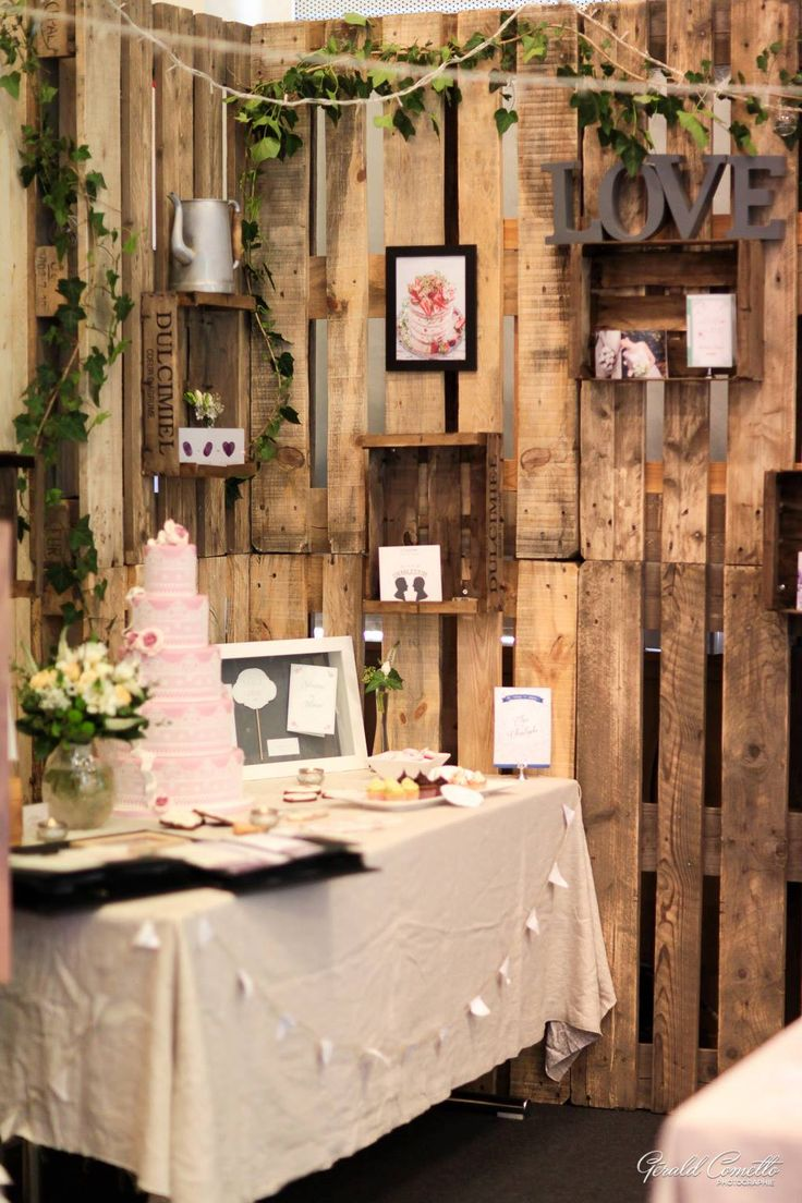 17 best images about aujourd 39 hui c 39 est my work on pinterest coins wedding cakes and for Stand expo deco