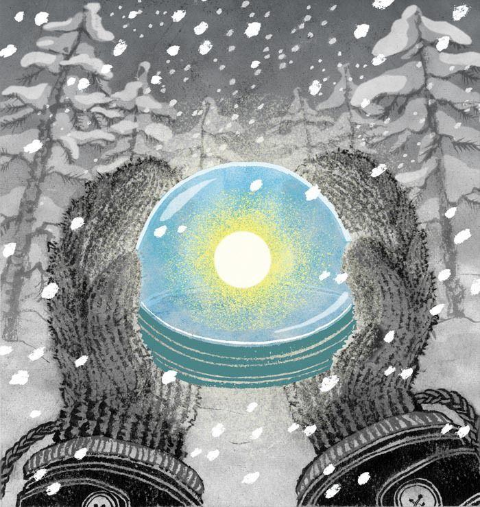 winter+solstice   Happy Winter Solstice - Yuko Shimizu