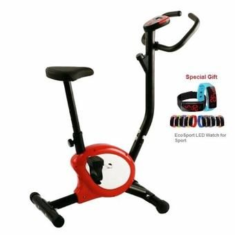 Buy Combo Set EcoSport Lightweight Exercise Fitness Zero Bike Bicycle (Red) and LED Sport Watch online at Lazada. Discount prices and promotional sale on all. Free Shipping.
