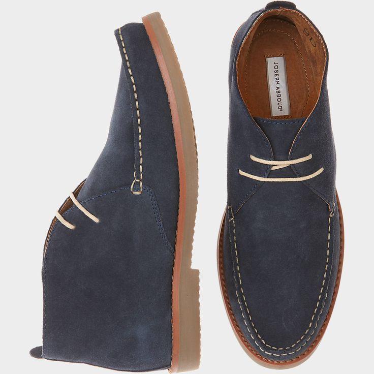 Joseph Abboud Olive Chukka Boots | Men's Wearhouse
