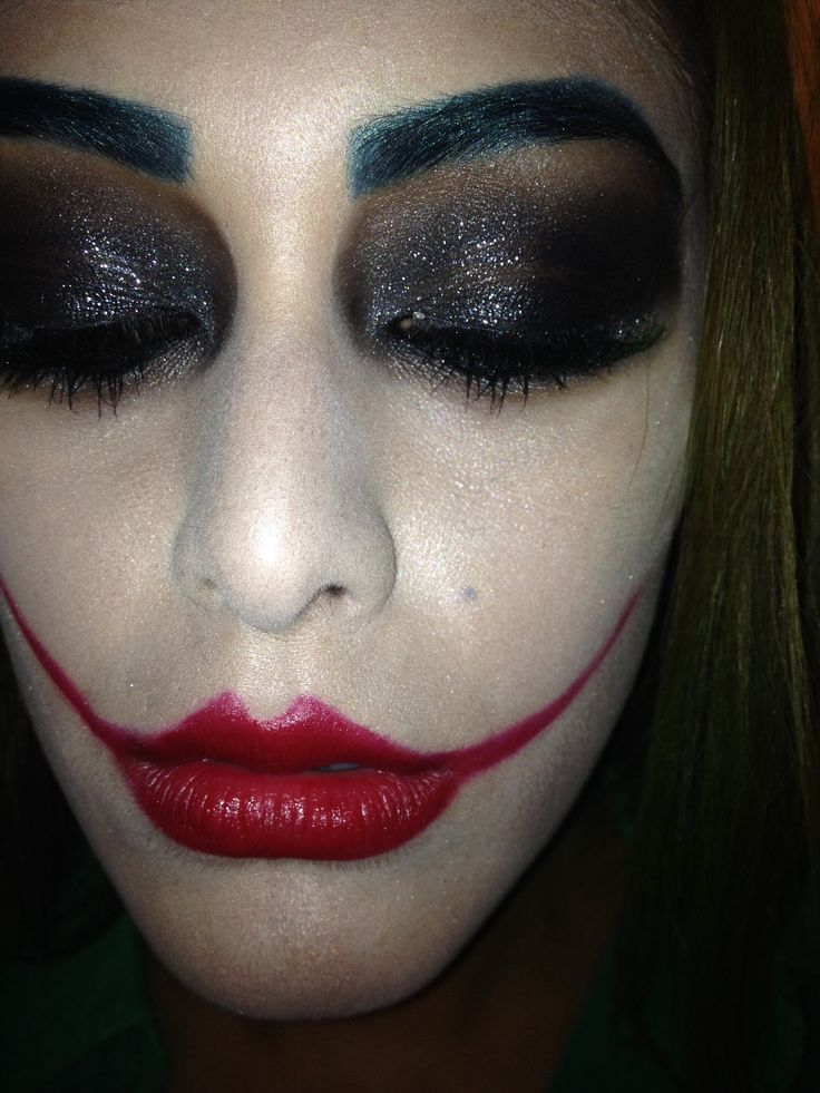 17 Best Ideas About Joker Costume Girl On Pinterest | Joker Costume Female Joker Makeup And ...