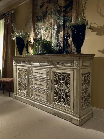 Shop For Habersham Plantation Monaco Sideboard/Curio, And Other Living Room  Cabinets At Elite Interiors In Myrtle Beach, SC.