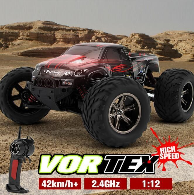 RC Car 2.4GHz 4WD large tire high speed Off-road vehicle model 9115 9116