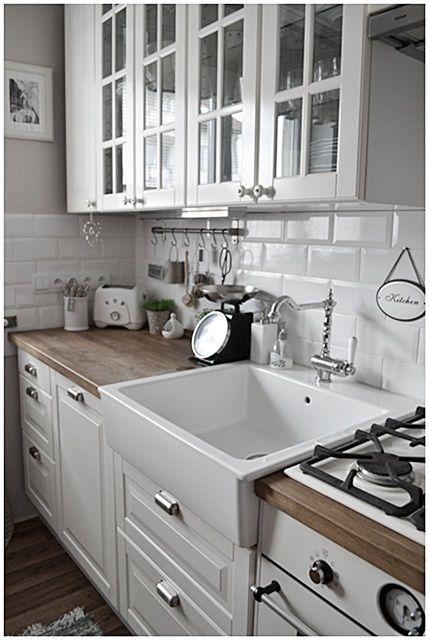 Azulejos y pared gris decoraci n pinterest cocinas - Azulejos cocina ikea ...