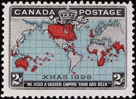 """The Canadian """"Xmas"""" map stamp of 1898"""