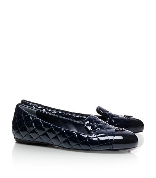 Patent Leather Kaitlin Smoking Slipper   Womens Slippers & Loafers
