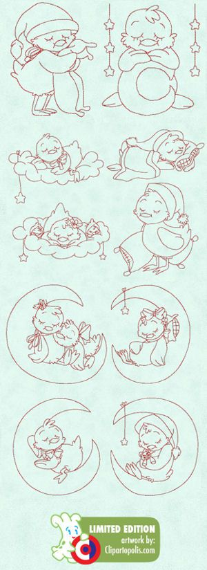 Sleepy Time Chicks - $12.97 : The Country Needle Embroidery Designs®, Offers high quality, manually punched machine embroidery designs at affordable prices. Instant downloads available. Where quality designs and customer service are the priority! Join The Country Needle Embroidery Barn, our embroidery club for even more savings!