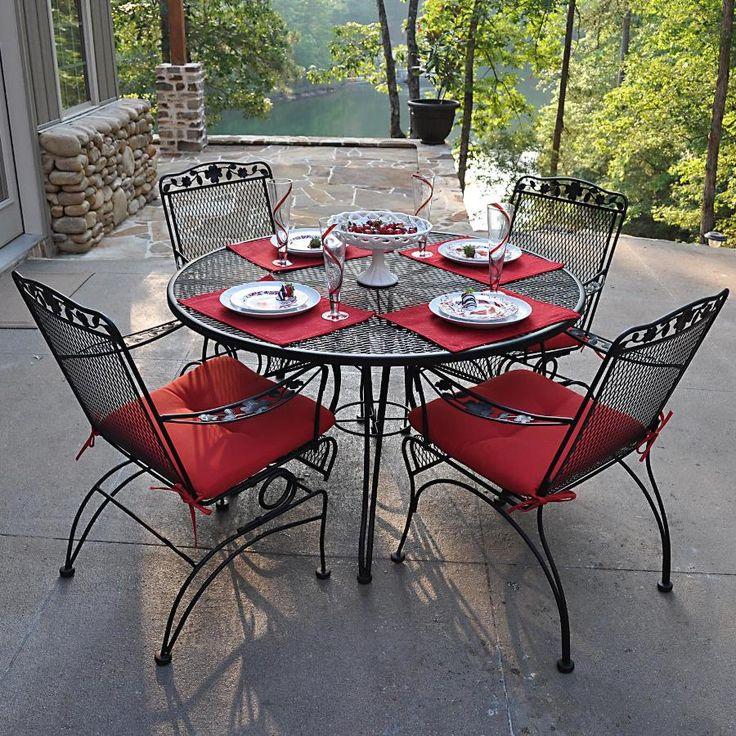 Maintain Table Rod Iron Patio Furniture - http://www.thefamilyyak.com/maintain-table-rod-iron-patio-furniture/