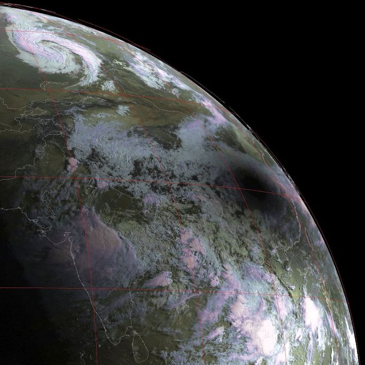 This image was produced from data from EUMETSAT's Meteosat-7 satellite which is located over the Indian Ocean, received over EUMETCast by my MSG Data Manager, with the false-colour combination produced by my GeoSatSignal-7 software combining both visible-channel and thermal-channel data from the satellite.Awesome Pictures, The View, Eclipse View, Large Pictures, Pictures Blog, Eclipes Shadows, Eclipes View, Solar Eclipse, Solar Eclipes