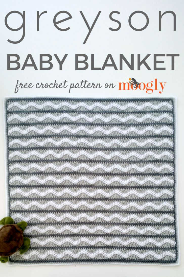 1884 best fiber images on pinterest crochet afghans knit crochet greyson baby blanket free crochet pattern on fandeluxe Image collections
