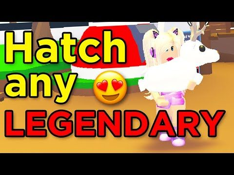 How To ALWAYS Hatch A LEGENDARY Pet! // Adopt Me Roblox
