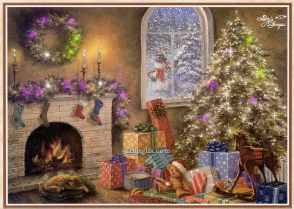 Imagenes de noche de navidad con movimiento