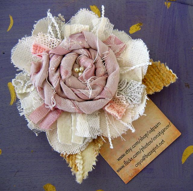 adorable shabby flower