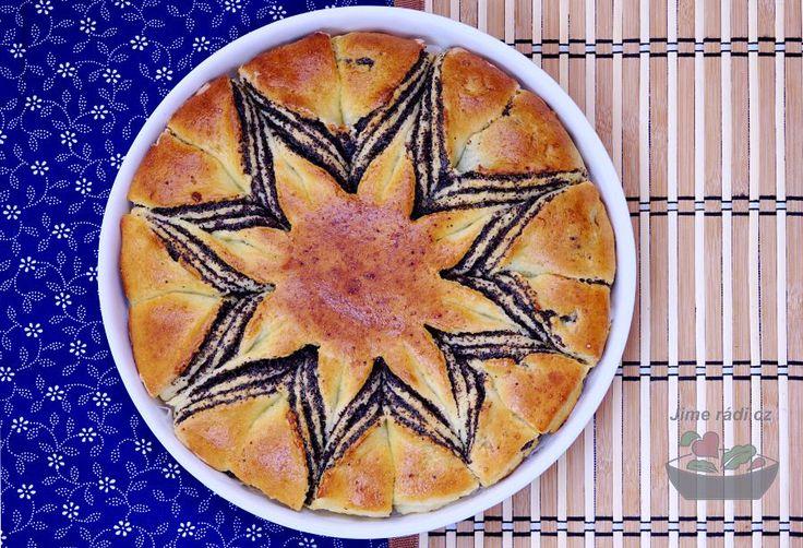 Zkuste #bezlepkový hvězdičkový koláč, který je opravdu výborný a navíc zaujme každou návštěvu tím, jak krásně vypadá.