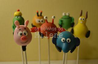. . : | Cake Pops Portugal | : . . Os Bolinhos da Milene: cake pops selva sobre rodas