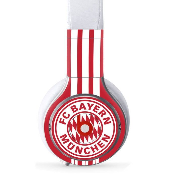 FC Bayern Munchen decal for Monster Beats Pro wireless headphones