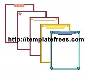 Free Printable Page Border Boxes Design  Microsoft Word Page Border Templates