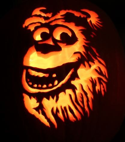 22 best monster inc pictures images on pinterest for Sully pumpkin template
