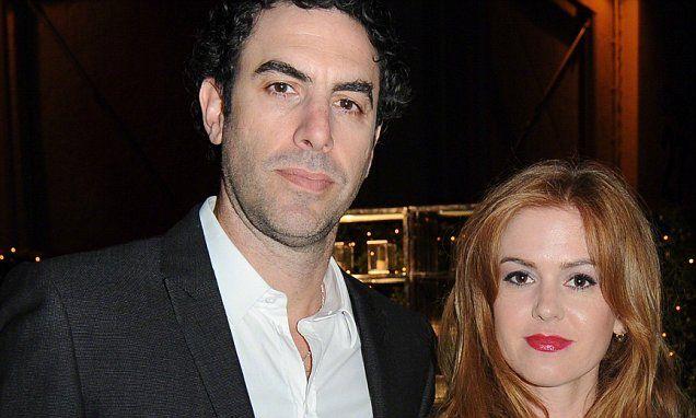 Isla Fisher 'is pregnant again with husband Sacha Baron Cohen'