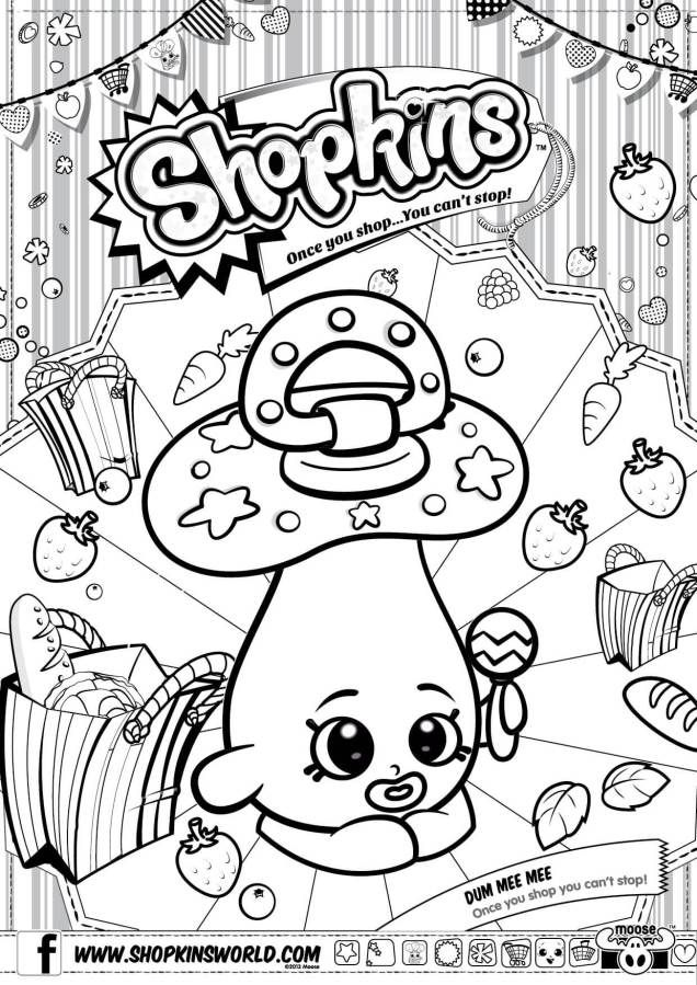 9 best shopkins coloring pages images on Pinterest | Coloring ...