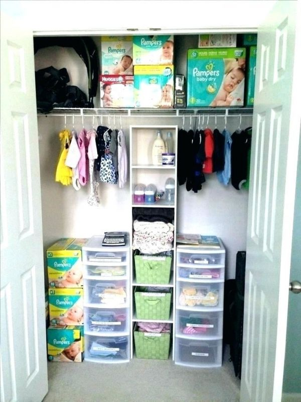 Clothes Closet For Small Spaces Baby Nursery Closet Baby