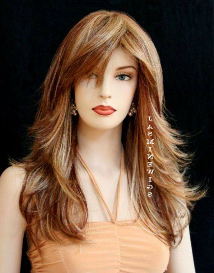 long hair haircut styles layered hairstyles with bangs simple hairstyle 2732 | 3216a3d0bd94031615cdc80bdddc9db1