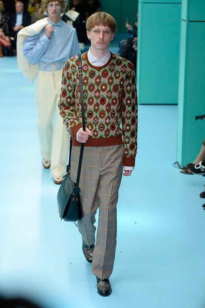d153241c261 Male Fashion Trends  Gucci Fall-Winter 2018 - Milan Fashion Week