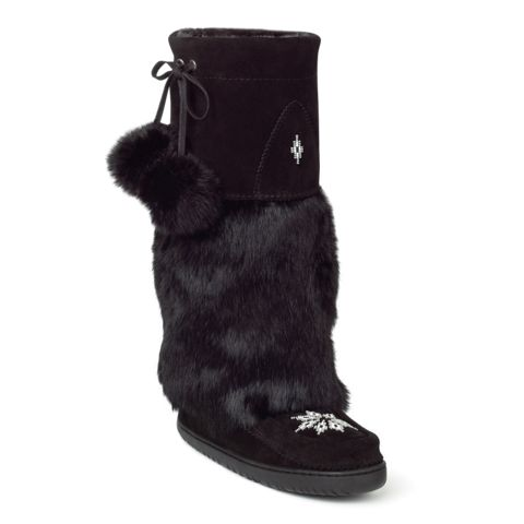 Manitobah Mukluks - made in Canada by an Aboriginal brand. Supports Aboriginal peoples! :)