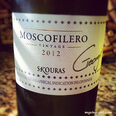 Domaine Skouras 2012 Moschofilero [Peloponnese] (SRP $18): This wine shows appealing aromas of citrus zest, honeysuckle, and white flowers with a pleasant underlying minerality ...