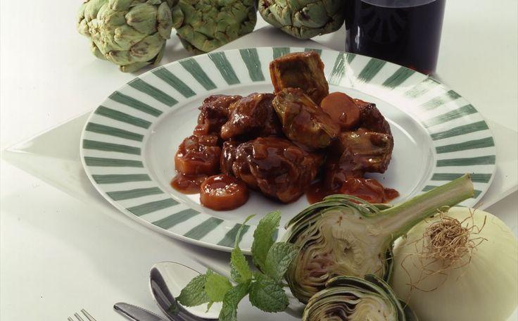 """""""Estofado De Cordero Con Alcachofas Y Tomate"""" en Nestlé Cocina #recetas #nestlecocina #menuplanner #cocina"""