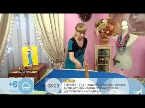 Ольга Никишичева Платье одним швом за пол часа - YouTube