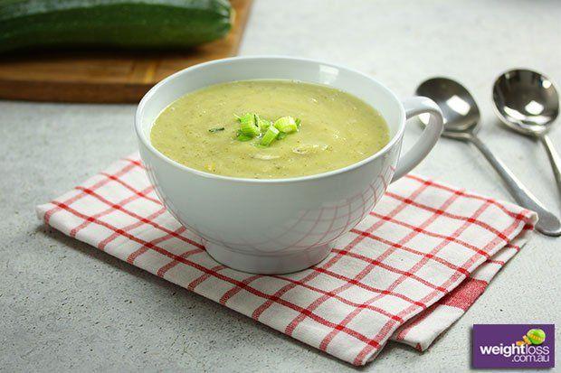 Zucchini & Cauliflower Soup
