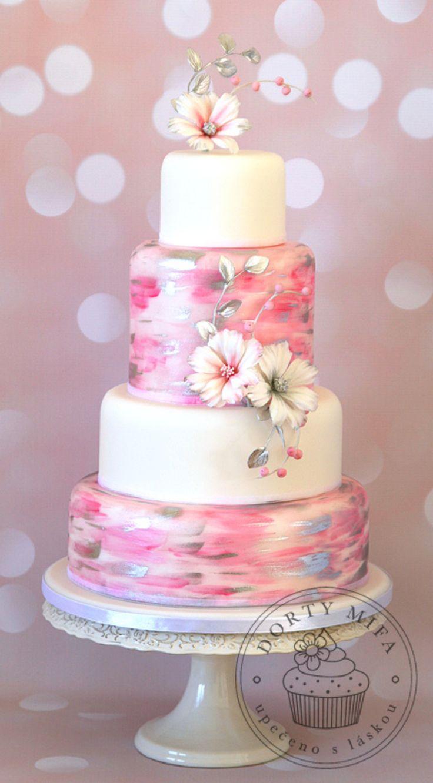 Cosmos Wedding Cake