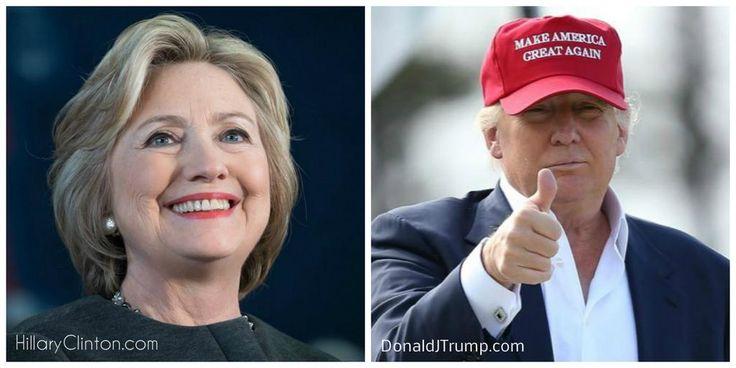 Meningsmåling og resultat presidentvalget i USA 2016
