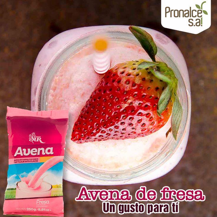 Elije un momento de este día para consentirte y date gusto con un batido de #Avena de fresa #Pronalce#Pronalce #DelSur #Chocotom #cereal #breakfast #desayuno #avena #integral #salud #saludable #feliz #love #hojuelas #maiz #lonchera #snack #granola #frutosrojos #banano #deleitar #alimentos #granos