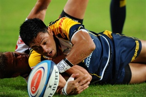 The Brumbies will be looking to keep in touch with the Super Rugby leaders when they take on the Waratahs on Saturday.