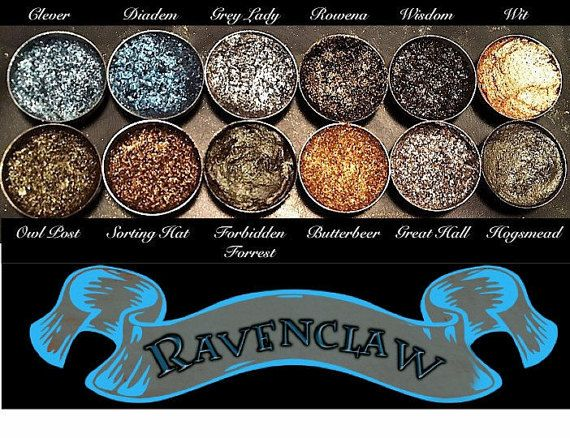 UPDATE: THANK YOU GUYS SO MUCH FOR ALL OF THE LOVE! YOU BEAUTIFUL PEOPLE HAVE BOUGHT UP MY ENTIRE STOCK! ALL FUTURE ORDERS WILL BE DELAYED ABOUT AN EXTRA WEEK DEPENDING ON SHIPPING. _____________________________________________________________________________________________ INTRODUCING THE HARRY POTTER PALETTE COLLECTION!!! AVAILABLE FOR PRE-ORDER NOW!!!!! The Ravenclaw Palette features the iconic Blue and Bronze house colors as well as the entire Hogwarts Shadows Collection which…