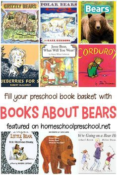My kids can never read too many bear books. They love polar bears, grizzly bears, and brown bears. Here are 12 delightful picture books about bears! #homeschooling #kidsbooks #kidlit #childrensbooks #picturebooks   http://homeschoolpreschool.net/picture-books-about-bears/