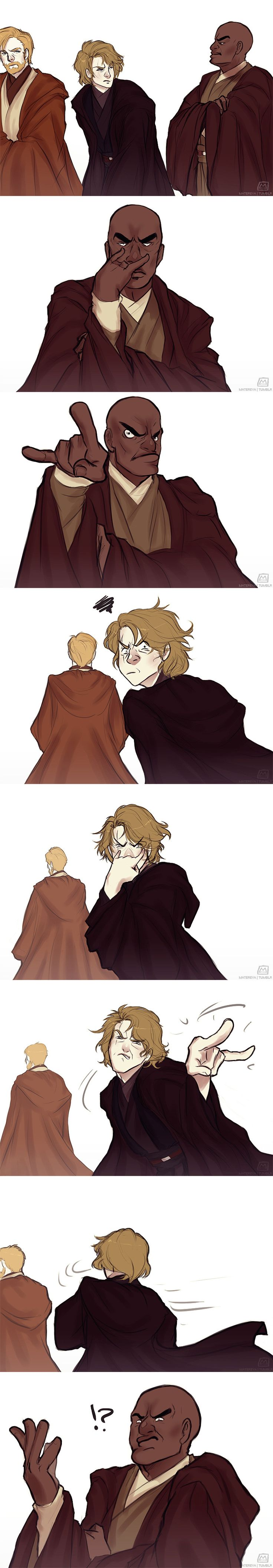 I've got my eyes on you, Skywalker by Matereya on DeviantArt