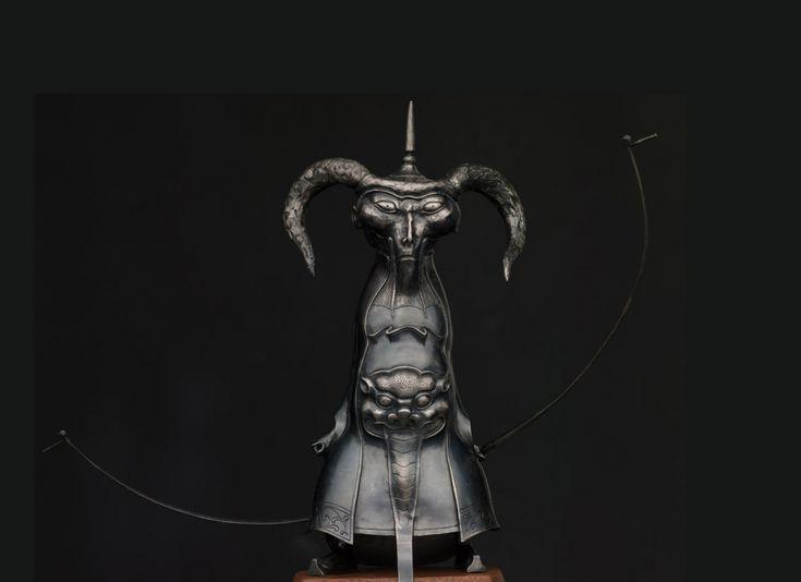 Dashi Namdakov — Sculptures