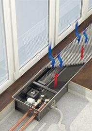 Встраиваемый в пол конвектор Qtherm — это отопительный прибор с принудительной конвекцией, с тангенциальными вентиляторами. Вентиляторы могут быть расположены как со стороны окна, так и помещения. Конвекторы Qtherm комплектуются в зависимости от влажного или сухого типа  помещения как вентиляторами переменного тока ~220 В, так и  вентиляторами постоянного тока с энергосберегающими EC двигателями -24В. Конвекторы Qtherm могут быть укомплектованы микропроцессорным регулятором плавного…