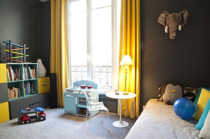 Contemporain Chambre de Bébé by NOOOR architecte d'interieur