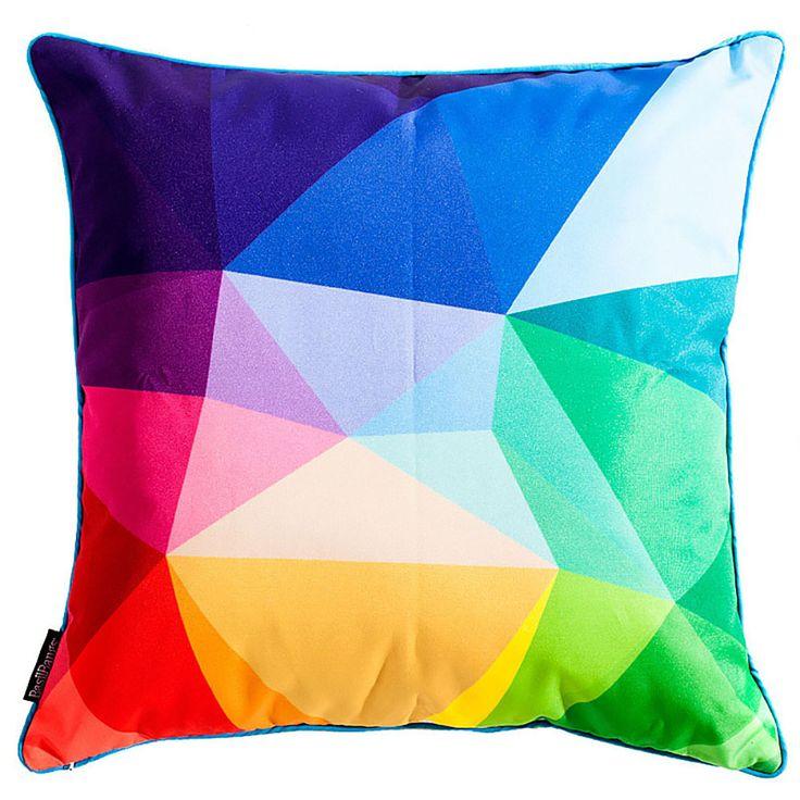 top3 by design - Basil Bangs - splice cushion 50x50