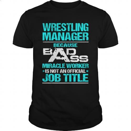 WRESTLING-MANAGER - #funny tshirts #striped shirt. GET YOURS => https://www.sunfrog.com/LifeStyle/WRESTLING-MANAGER-116800479-Black-Guys.html?60505