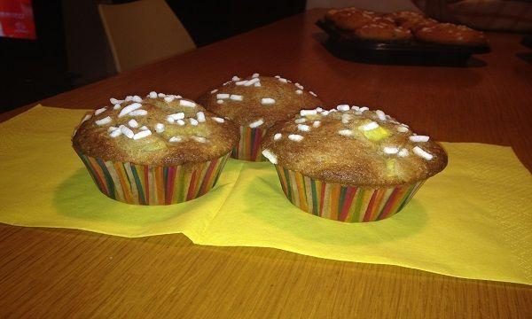 Muffin al mango