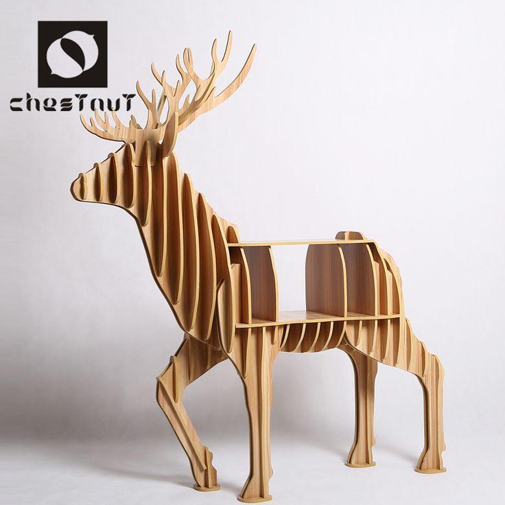 epoca moderna sculture in legno animale alce cervo tavolino home decor astratto-Altro arredamento per la casa-Id prodotto:60323997535-italian.alibaba.com