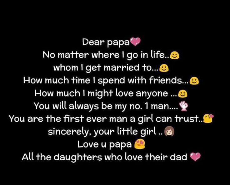 love u papa ...♡