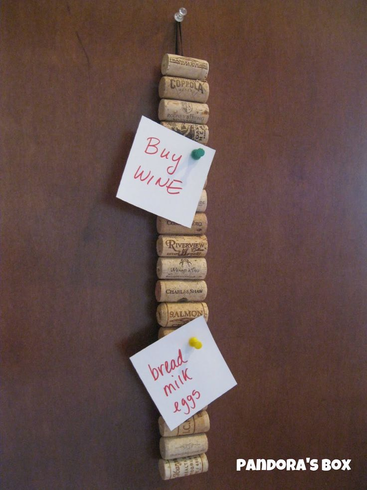 Pandora's Box: What to do with Wine Corks!