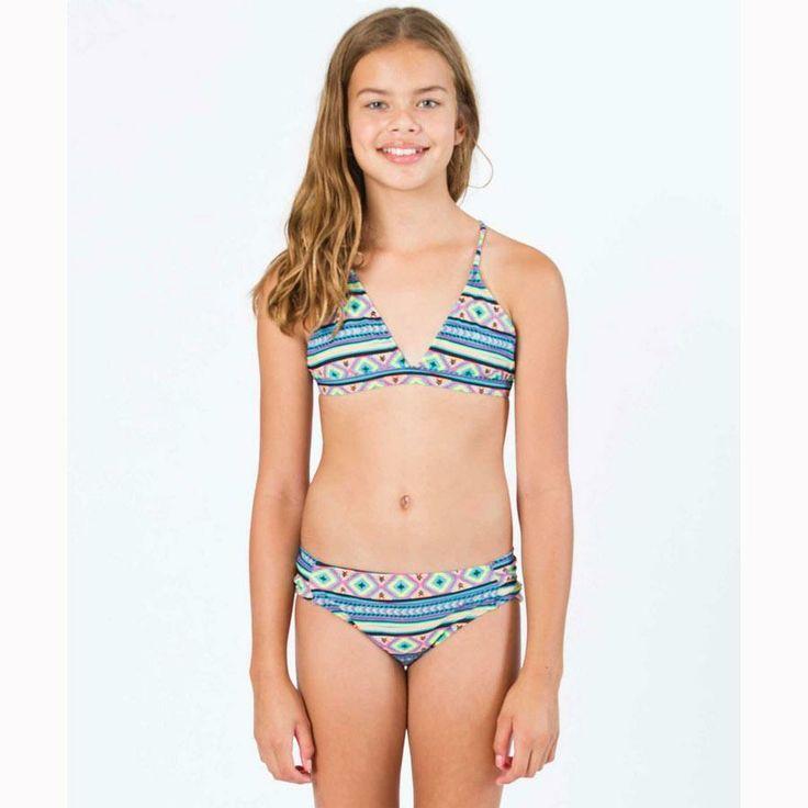 Billabong Heat Wave Triangle In Girls Swimwear
