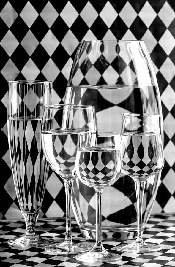 Refraction Photograph - Pierrot by Maggie Terlecki
